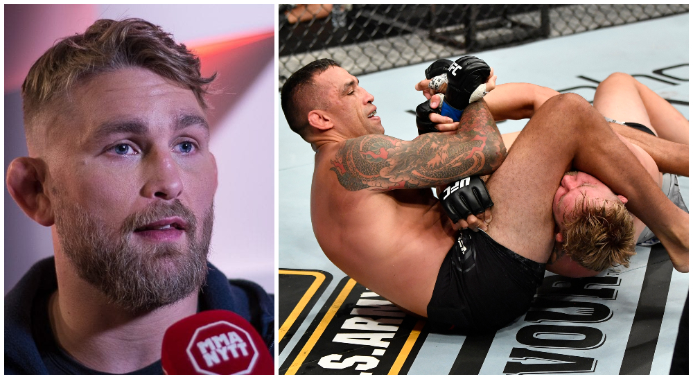 Alexander The Mauler Gustafsson Fabricio Werdum Foto MMAnyrtt _ USA TODAY Sports UFC