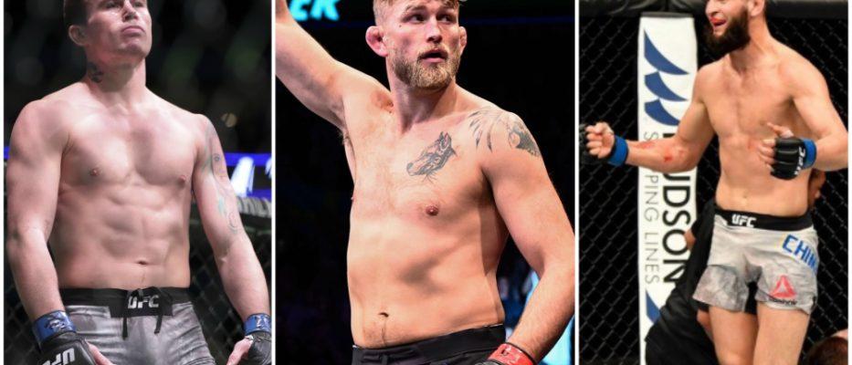 Alexander Gustafsson Khamzat Chimaev UFC MMA Fight Island 3