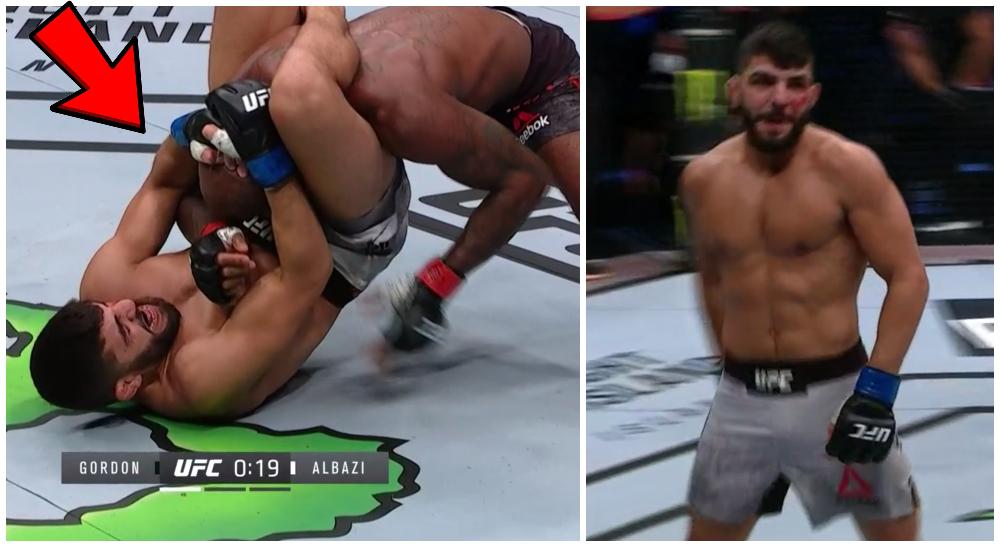 UFC MMA Amir Albazi debut