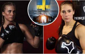 BRave Malin Hermansson BRAVE CF MMA Elin Oberg