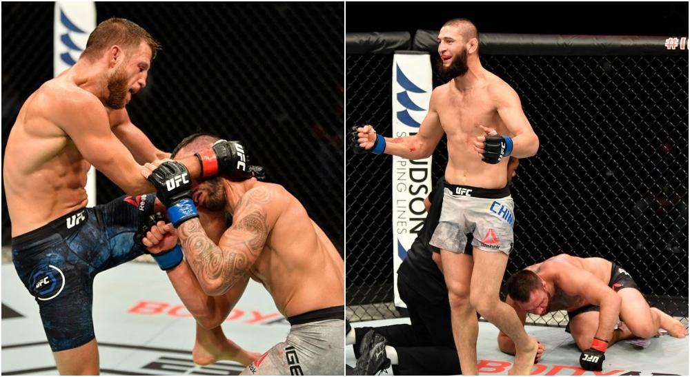 Calvin Kattar Khamzat Chimaev (UFC Instagram)