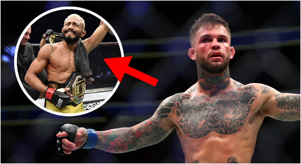 Cody Garbrandt Deiveson Figueiredo (© Mark J. Rebilas © Handout Photo -USA TODAY Sports)
