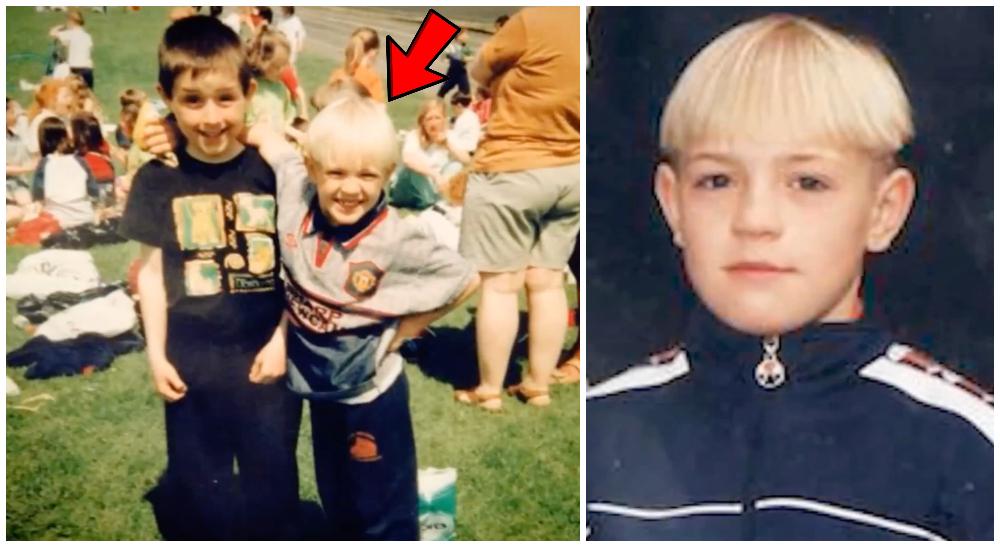 UFC-stjärnan Conor McGregor som ung