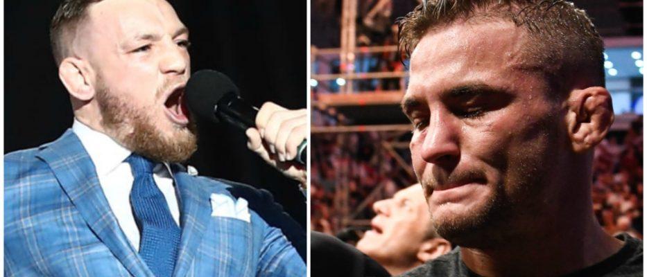 Conor McGregor Dustin Poirier UFC MMA