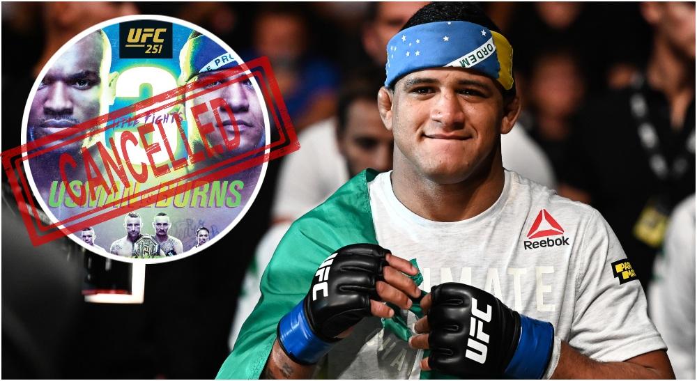 Gilbert Burns UFC 251 (© Per Haljestam-USA TODAY Sports)
