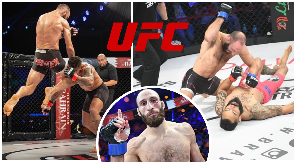 Guram Kutateladze närmar sig UFC
