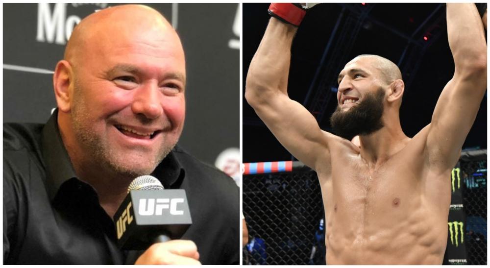 Khamzat Chimaev Dana White Kamaru Usman kanske MMA UFC