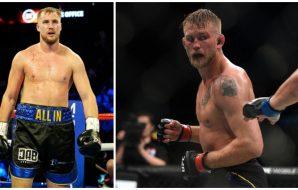 Otto Wallin Alexander Gustafsson MMA Boxning