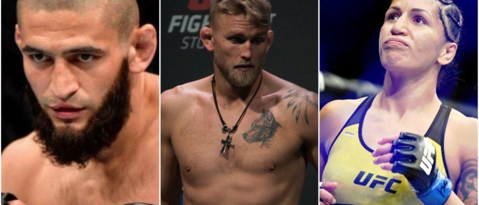 UFC MMA Khamzat Chimaev Alexander Gustafsson Pannie Kianzad