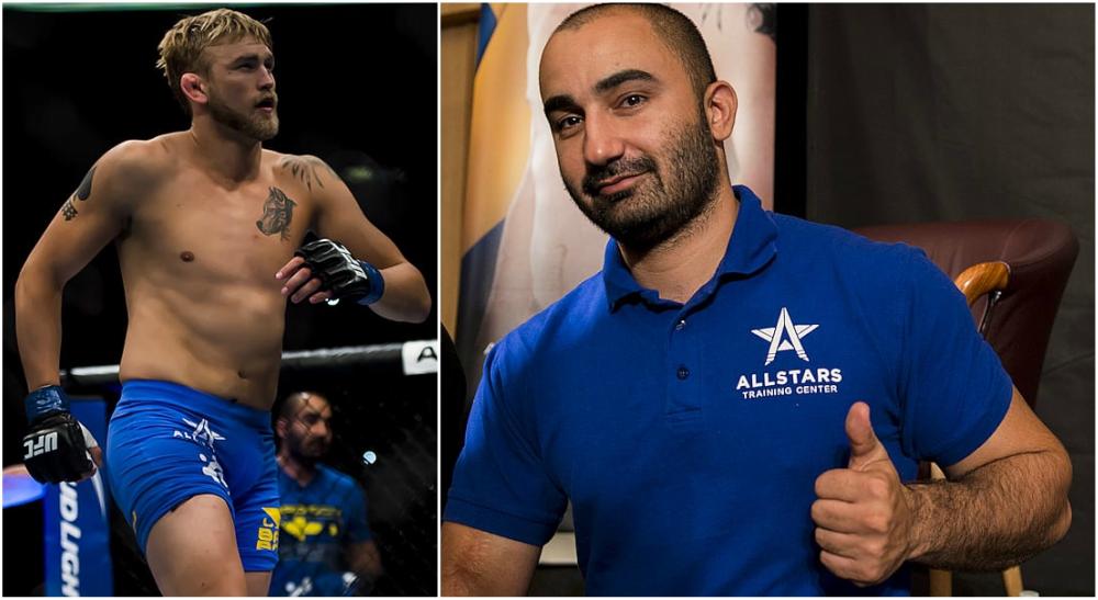 Andreas Michael UFC MMA Alexander Gustafsson tränare kritik