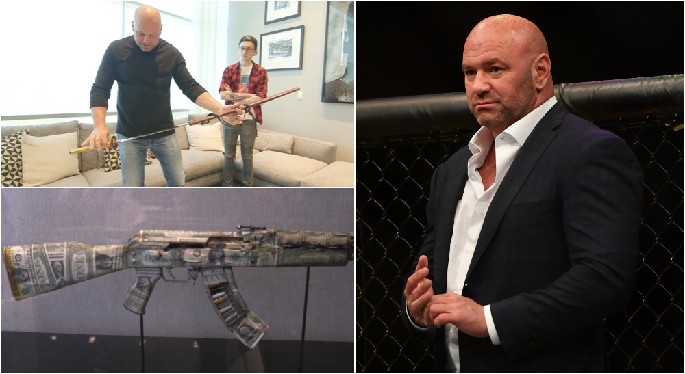 Dana White (© Jasen Vinlove-USA TODAY Sports & Barstool Sports)