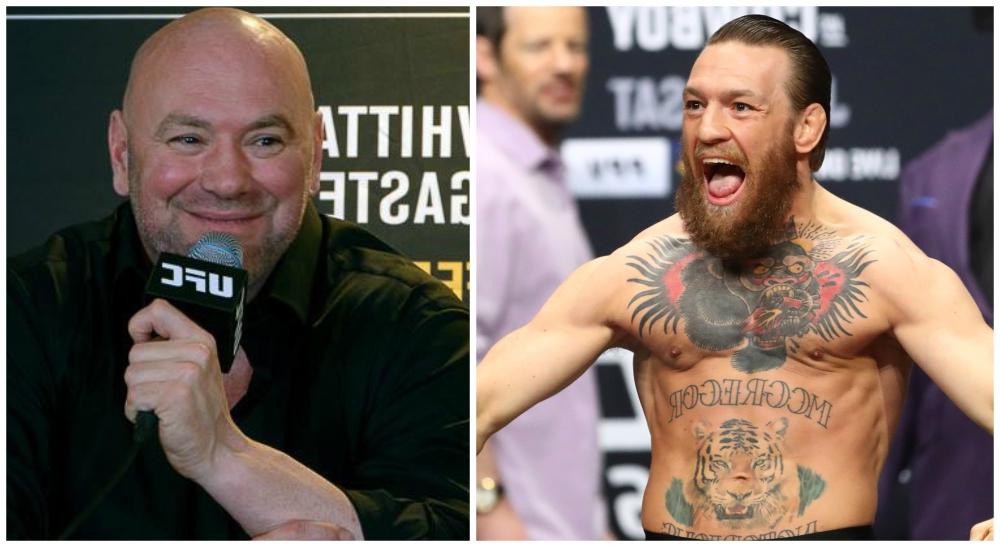 Dana White Conor McGregor UFC MMA