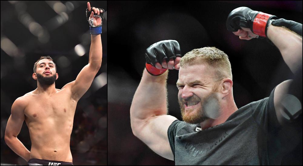 Dominick Reyes vs Jan Blachowicz