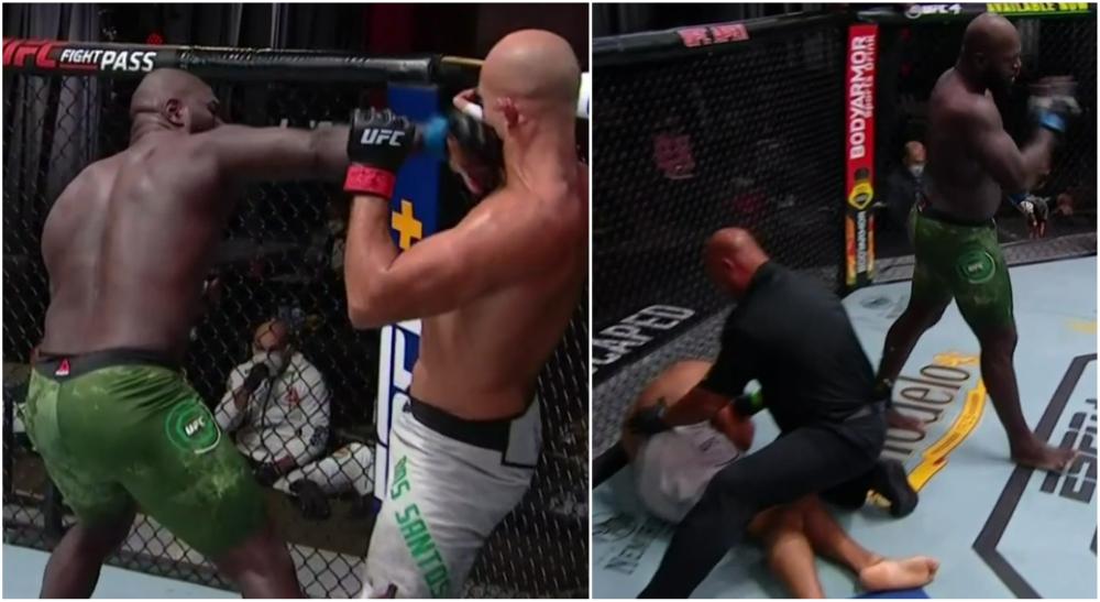 Jairzinho Rozenstruik UFC 252 Junior dos Santos MMA