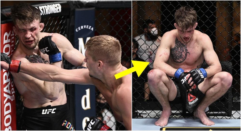 Max Rohskopf UFC-debut (© Handout Photo-USA TODAY Sports)