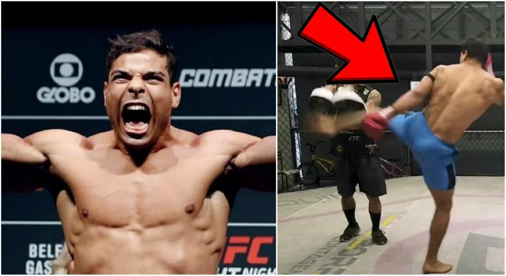 Paulo Costa galna sparkar UFC MMA star