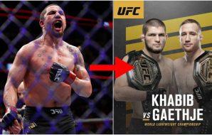Robert Whittaker UFC 254 (© Kamil Krzaczynski-USA TODAY Sports)