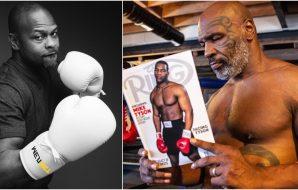 Roy Jones Jr. Mike Tyson (Instagram)