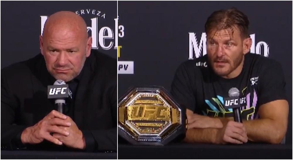 Stipe Miocic UFC 252 Presskonferensen