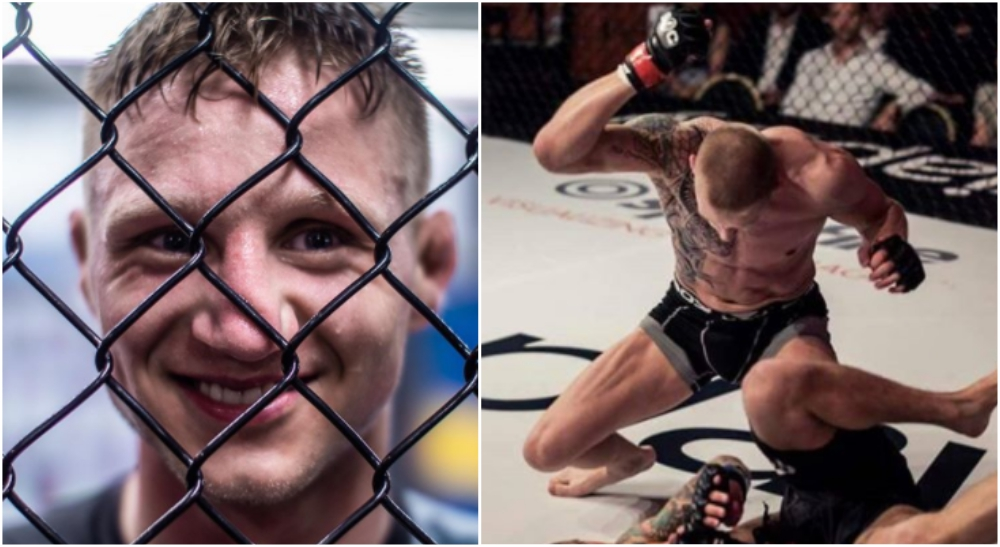 Tobias Harila UFC MMA BRAVE CF 39
