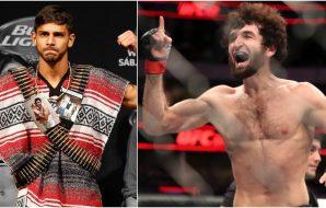 Yair Rodriguez & Zabit Magomedsharipov (© Kevin Jairaj-USA TODAY Sports)