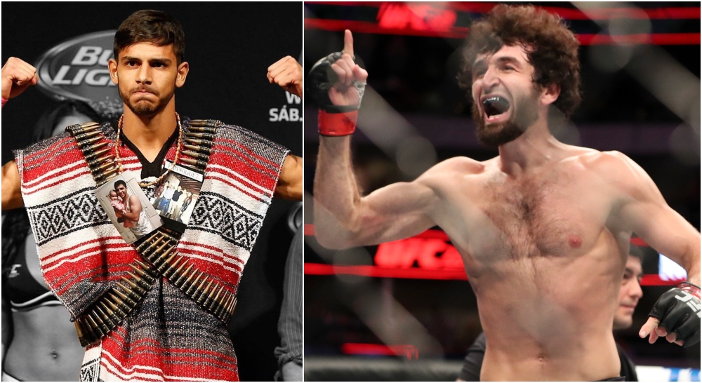 Yair Rodriguez & Zabit Magomedsharipov (© Kevin Jairaj-USA TODAY Sports)