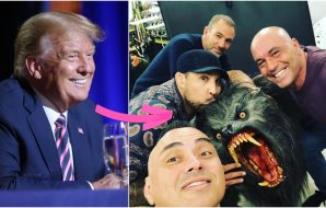 Donald Trump Joe Rogan (© Michael Chow_The Republic via Imagn Content Services, LLC)
