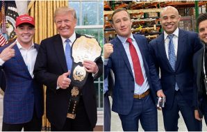 Donald Trump UFC Colby Covington