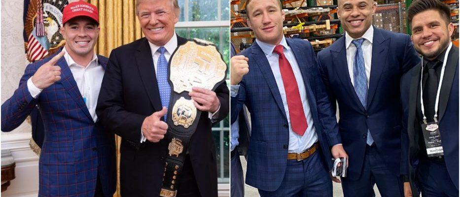 Donald Trump UFC Colby Covington