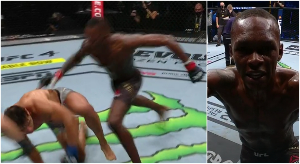 Israel Adesanya Paulo Costa UFC MMA UFC 253