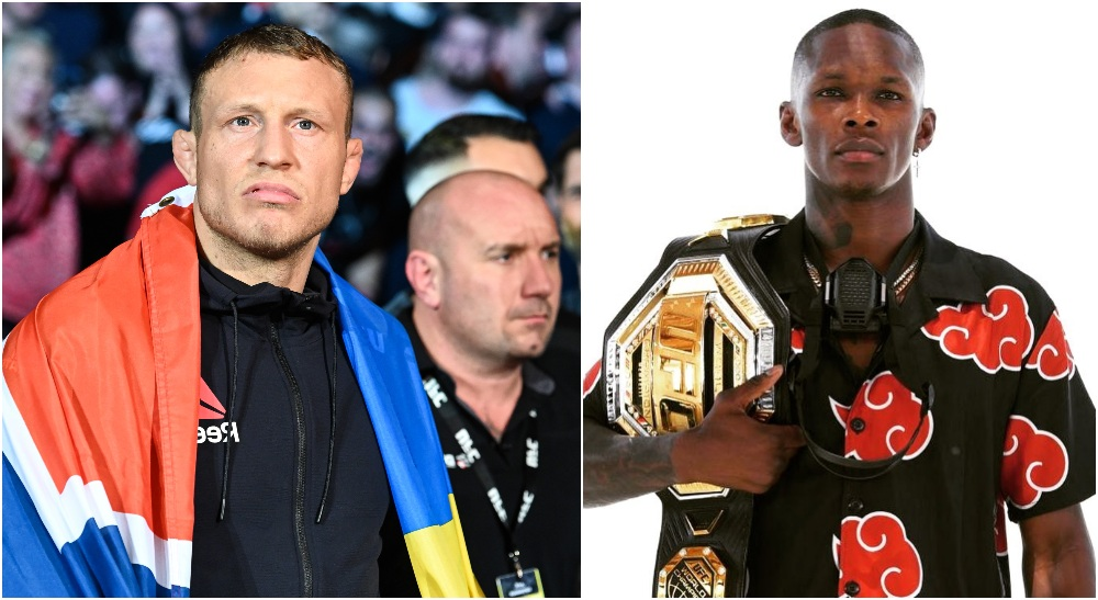 Jack Hermansson, Israel Adesanya (© Per Haljestam-USA TODAY Sports)