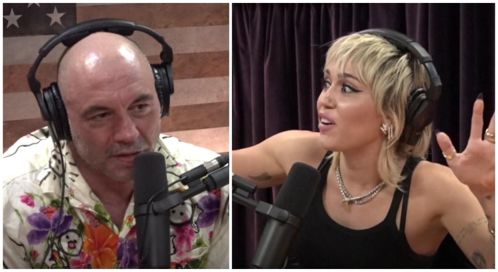 Joe Rogan Miley Cyrus UFC MMA