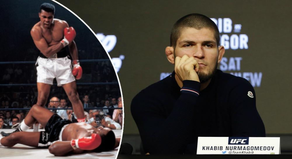 Khabib Muhammad Ali UFC MMA Boxning