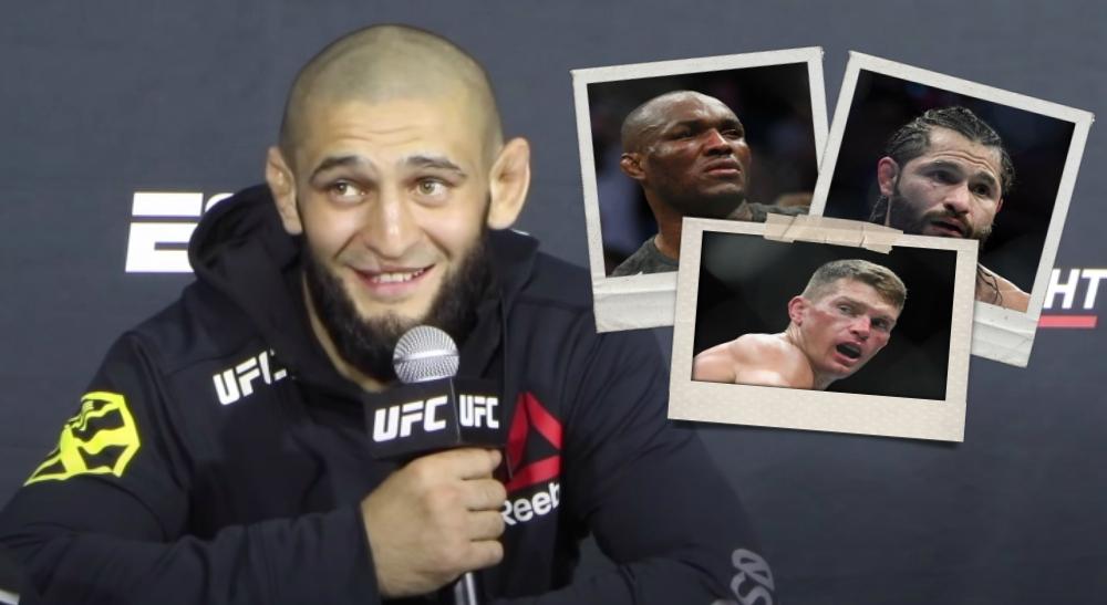 Khamzat Chimaev UFC MMA utmaning Khamzat
