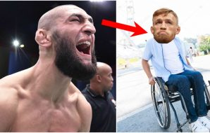 Khamzat Conor McGregor rullstol UFC MMA