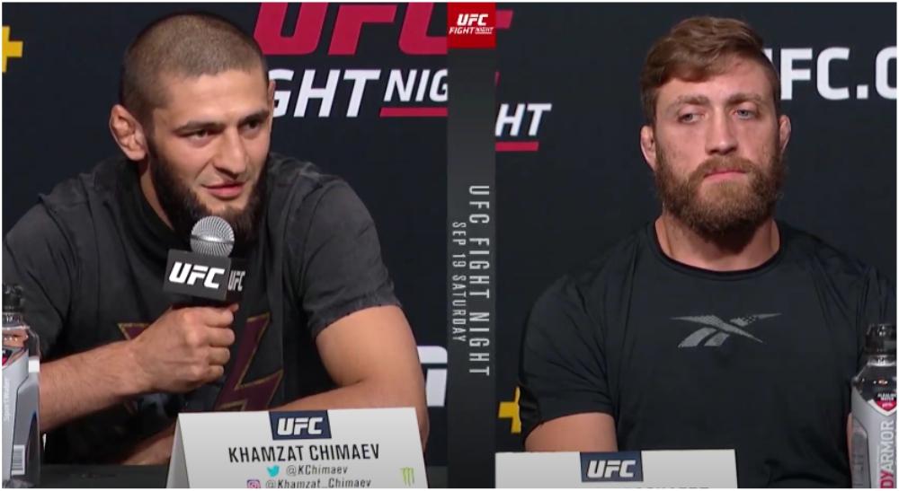 Khamzat klockren briljerar MMA UFC