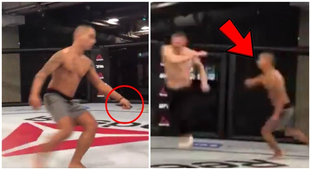 MMA UFC Diego Sanchez Joshua Fabia