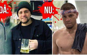 Nick Diaz UFC MMA Fysik Fysiknytt omvandling