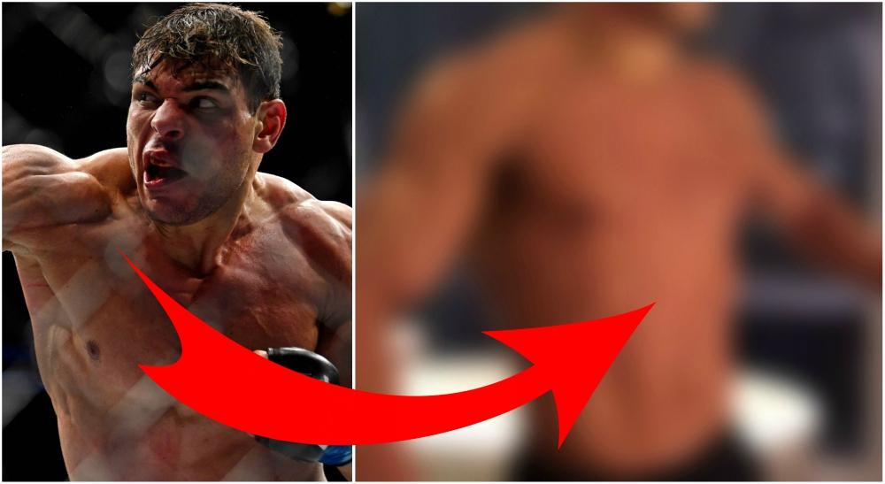 Paulo Costa Borrachincha vansinning fysik MMA UFC
