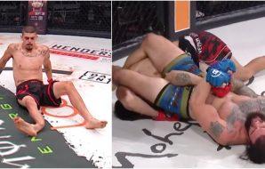 Bellator-fighter Albert Gonzales