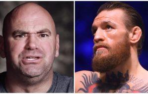 Conor McGregor Dana White UFC MMA Dustin Poirier