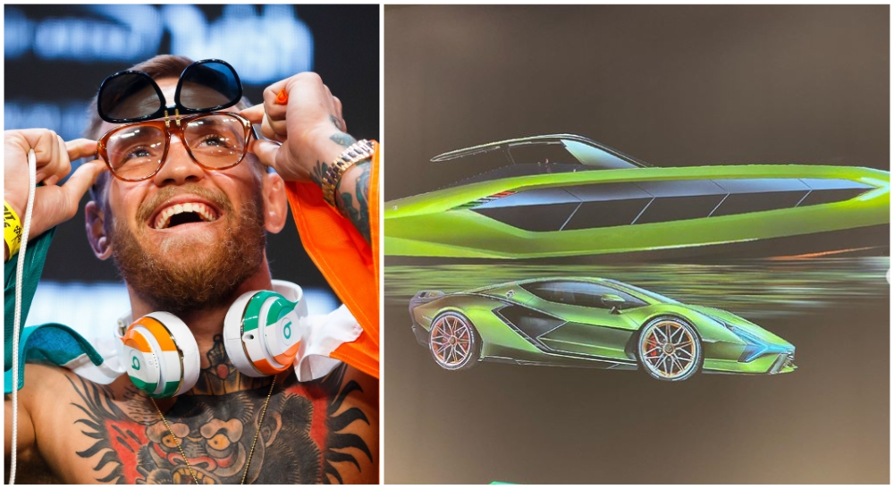 Conor McGregor lyxbat Lamborghini UFC MMA