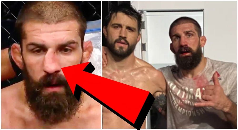 Court McGee UFC MMA Carlos Condit nasa 1