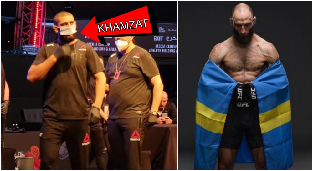 Guram UFC svensk MMA Khamzat Chimaev Mateusz Gamrot