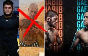 Khabib Nurmagomedov Conor McGregor UFC 254