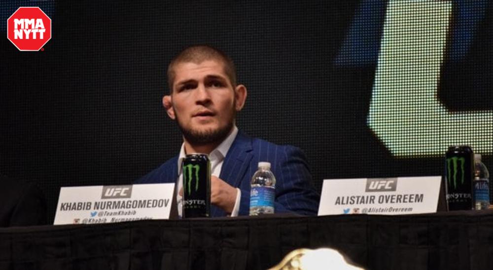 UFC 254 Khabib