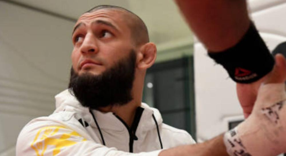 Khamzat enkla fighten MMA UFC Khamzat Chimaev