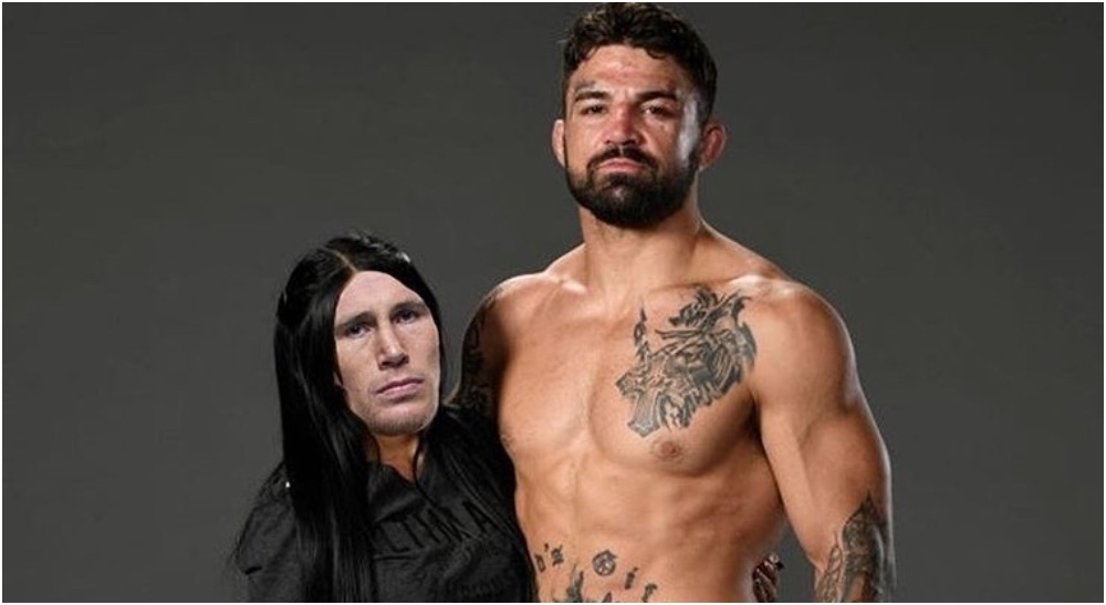 Mike Perry Darren Till (Instagram)