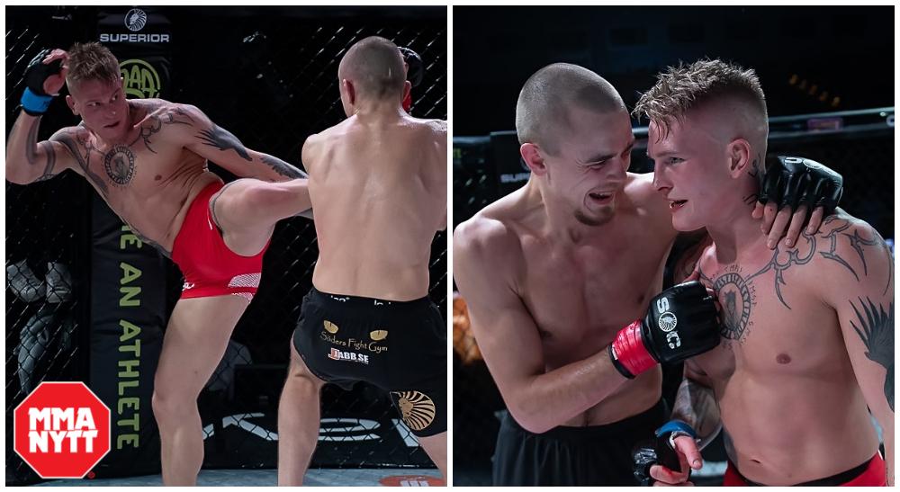 Adam Westlund vs Robin Roos