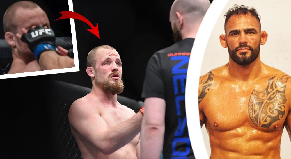 Gunnar Nelson Santiago Ponzinibbio Foto UFC _ USA TODAY Sports _ Instagram